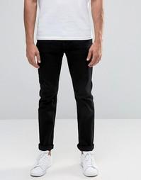 Облегающие джинсы Troy - Черный