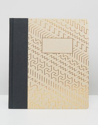 Блокнот формата A5 с золотистым узором Ohh Deer - Мульти
