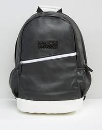 Черно-белый рюкзак Heist - Черный