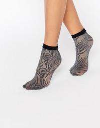Ажурные носки Jonathan Aston - Черный