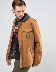 Куртка с воротником борг Poler Mole - Рыжий