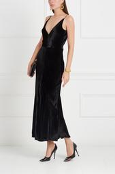 Бархатное платье Bridget Gabriela Hearst