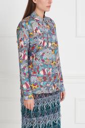 Шелковая блузка Henri Gabriela Hearst