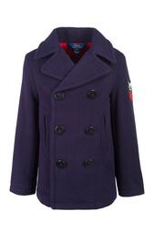Шерстяное пальто Ralph Lauren Children