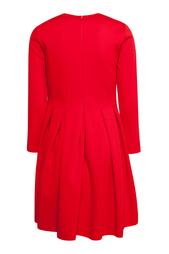 Однотонное платье il Gufo
