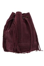 Замшевая сумка BABETTE BOHEME TRESSE Grace Atelier De Luxe