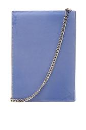 Кожаный клатч Harper's Bazaar Foliant