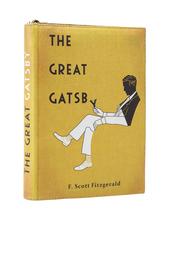 Кожаный клатч The Great Gatsby Foliant