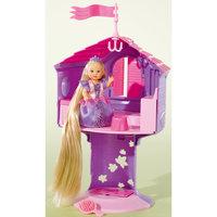 """Кукла с длинными волосами в сказочной башне """"Еви"""" Simba"""