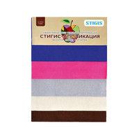 """Стигис-аппликация """"Набор ткани маленький №2"""" Stigis"""