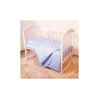 Постельное белье Мишки 3 пред., бязь 60х120, Baby Nice,голубой