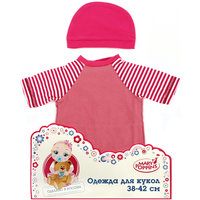 Одежда для куклы 42 см, комбинезон с шапочкой, Mary Poppins, в ассортименте