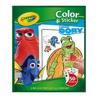 """Раскраска с наклейками """"В поисках Дори"""" Crayola"""