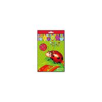 Картон с тиснением в горошек, 5 листов, 5 цв Феникс+