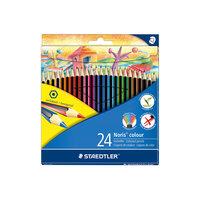 Карандаш цветные Noris Colour, 24 цв Staedtler