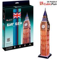 """Пазл 3D """"Биг бен (Великобритания)"""", CubicFun"""