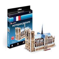 """Пазл 3D """"Нотрдам де Пари (Франция)"""", CubicFun"""