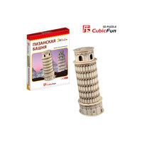 "Пазл 3D ""Пизанская башня  (Италия)(мини серия)"", CubicFun"