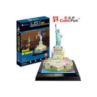 """Пазл 3D """"Статуя Свободы с иллюминацией  (США)"""", CubicFun"""