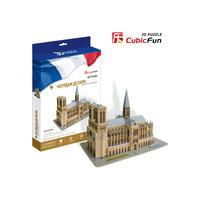 """Пазл 3D """"Нотердам де Пари (Франция)"""", CubicFun"""