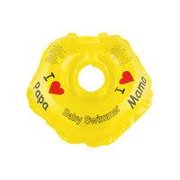 Круг для купания BabySwimmer, желтый