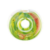 Круг для купания Веселый Арбуз BabySwimmer, салатовый