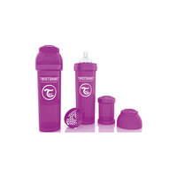 Антиколиковая бутылочка 330 мл., Twistshake, фиолетовый
