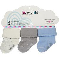 Носки для мальчика 3 пары Lucky Child