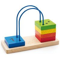 Счеты перекидные малые, Мир деревянных игрушек МДИ