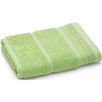 Полотенце махровое Клео 50*90, Любимый дом, зеленый