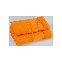 Полотенце махровое Tulips 70*140, Португалия, оранжевый