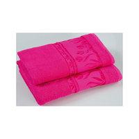Полотенце махровое Tulips 50*100, Португалия, ярко-розовый