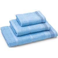 Полотенце махровое Клео 60*130, Любимый дом, голубой