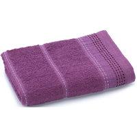 Полотенце махровое Клео 50*90, Любимый дом, фиолетовый