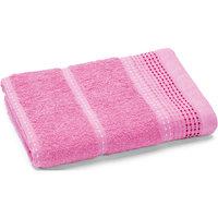 Полотенце махровое Клео 50*90, Любимый дом, розовый