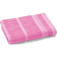 Полотенце махровое Клео 35*70, Любимый дом, розовый