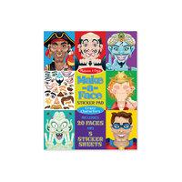 """Набор стикеров """"Лица - Безумные герои"""" Melissa & Doug"""