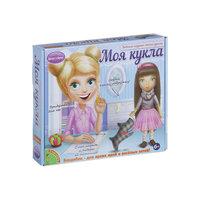 """Любимая игрушка своими руками """"Кукла с темными волосами"""" Bondibon"""