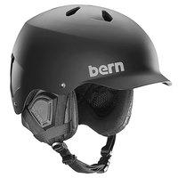 Шлем для сноуборда Bern Snow EPS Watts With Audio Matte Black/Black Liner