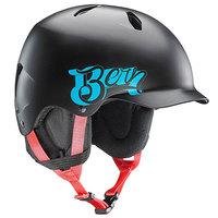 Шлем для сноуборда детский Bern Snow EPS Bandito Satin Black Baseball/Black Liner