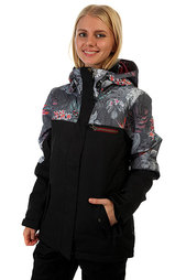 Куртка женская Roxy Rx Jetty Blo Jk Hawaiian Tropik Para