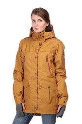 Куртка женская Roxy Kj Tribe Jk Bone Brown