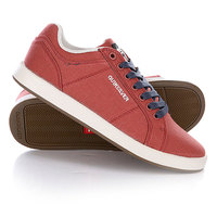 Кеды кроссовки детские Quiksilver Little Area 5 Cvs Red/White/Brown