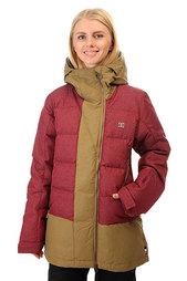Куртка женская DC Liberty Cordovan Red
