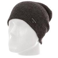 Шапка носок детская Quiksilver Cushy Slouch Yo Charcoal Heather