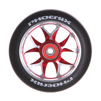 Колесо для самоката Phoenix F8 Alloy Core Wheel 110mm With Abec 9 Bearings Red/Black