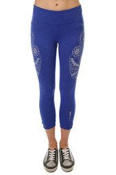 Леггинсы женские Roxy Hampi Capri Dazzling Blue Heather