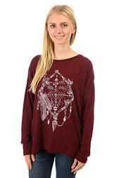 Толстовка классическая женская Billabong Magical Winter Mystic Maroon
