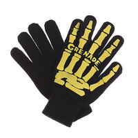 Перчатки Grenade Scull Hand Glove Yellow