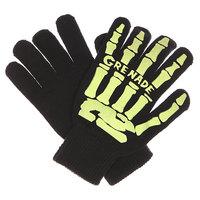 Перчатки Grenade Scull Hand Glove Lime